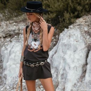 Spell & The Gypsy Collective Tops - Spell & The Gypsy Outlaw Organic Tee